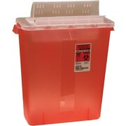 Kendall/Covidien Sharps Containers; 3 Gallon Always Open