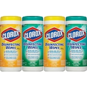 Clorox® Disinfecting Wipes Value Pack, Fresh Scent and Citrus Blend™, 140 Count