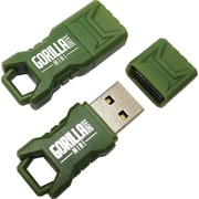 EP Memory Green Mini GorillaDrive Rugged USB Flash Drive, 16GB, 2-Pack