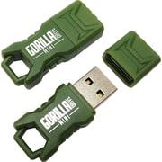 EP Memory Green Mini GorillaDrive Rugged USB Flash Drive, 32GB, 2-Pack