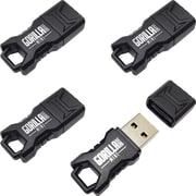 EP Memory Mini GorillaDrive Rugged USB Flash Drive, 64GB, 4-Pack