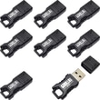 EP Memory Mini GorillaDrive Rugged USB 2.0 Flash Drive, 8GB, 8-Pack