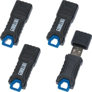 EP Memory GorillaDrive Rugged USB Flash Drive, 8GB, 4-Pack