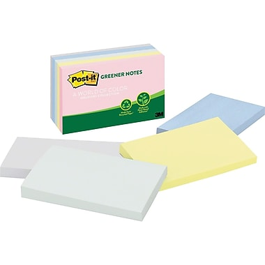 Post-it® Greener Notes, Helsinki Collection, 3