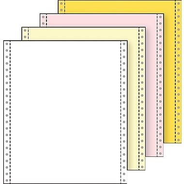 Printworks® Professional 4 Part Blank Computer Paper, 9 1/2
