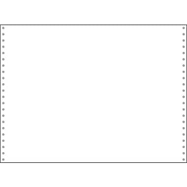Printworks® Professional Blank Computer Paper, 14 7/8