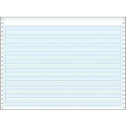 "Printworks® Professional Computer Paper W/1/2"" Blue Bar Highlight, 14 7/8"" x 11"", White, 2200 Sheets"