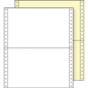 Printworks® Professional 2 Part Blank Computer Paper, 9 1/2 x 5 1/2, White/Canary, 2800 Sheets