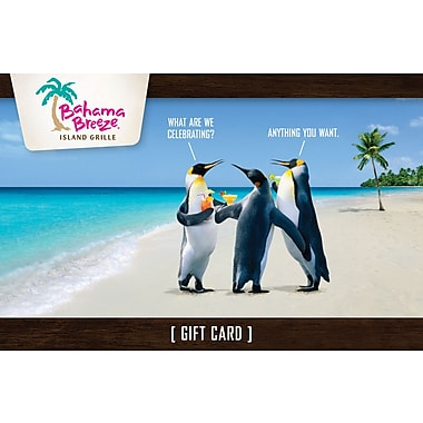 Bahama Breeze Gift Card 25 Email Delivery