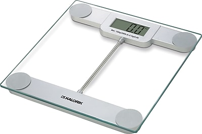 Kalorik Precision Digital Glass Bathroom Scale 1585253