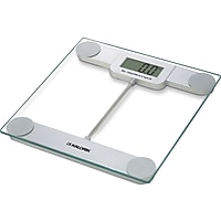 Kalorik Precision Digital Glass Bathroom Scale with LCD Display