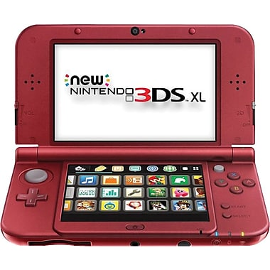 3DS XL System, Red