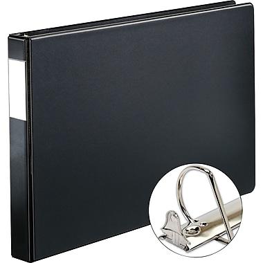 XtraLifeMD – Reliure à anneaux de 11 x 17 po Slant-DMD, 1 po, noir