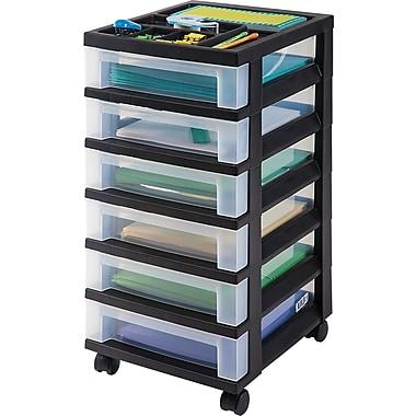 Staples® 6-Drawer Mobile Organizer