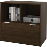 Bestar i3 1-Drawer Lateral File in Tuxedo (150632-78)