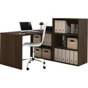 Bestar i3 L-Shaped Desk Tuxedo