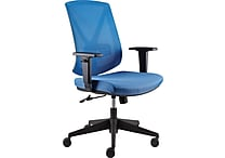 Staples® Blue Bonley Chair, Mesh