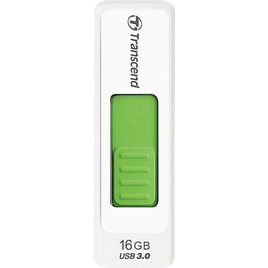 Transcend JetFlash 770 TS16GJF770 16GB USB 3.0 USB Flash Drive, White/Green