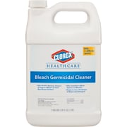 Clorox Healthcare® Bleach Germicidal Cleaner, Refill, 128 Oz., 4/Ct (For Healthcare Facilities Only)