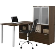 i3 by Bestar L-Shaped desk in Tuxedo