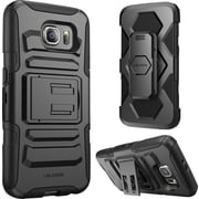 i-Blason Samsung Galaxy S6 Case , Prime Dual Layer Holster Case, Black
