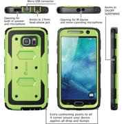 i-Blason Samsung Galaxy S6 Case , Armorbox Full Body Protective Case, Green