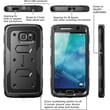 i-Blason Samsung Galaxy S6 Case , Armorbox Full Body Protective Case, Black