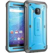 SUPCASE HTC One M9 Case, Unicorn Beetle Pro Rugged Holster Case, Blue/Black