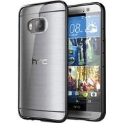 i-Blason HTC One M9 Case, Halo Scratch Resistant Hybrid Clear Case, Clear/Black