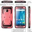 i-Blason HTC One M9 Case, Armorbox Full Body Protective Case, Pink
