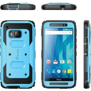i-Blason HTC One M9 Case, Armorbox Full Body Protective Case,  Blue