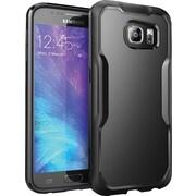SUPCASE Samsung Galaxy S6 Case, Unicorn Beetle Hybrid Bumper Case, Black/Black