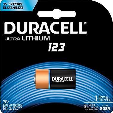 Duracell Ultra 3.0-Volt Lithium Battery (DL123ABPK)