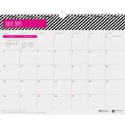 "July 2015 - June 2016 Blue Sky® Ampersand Designer Series Academic Year Wall Calendar 15"" x 12"" Wall Calendar"