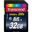 Transcend® Ultimate 32GB SDHC (Secure Digital High-Capacity) Class 10 Flash Memory Card