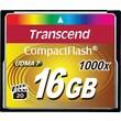 Transcend® Ultimate 16GB CF (CompactFlash) 1000x Flash Memory Card