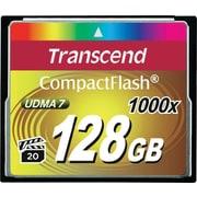 Transcend® Ultimate 128GB CF (CompactFlash) 1000x Flash Memory Card