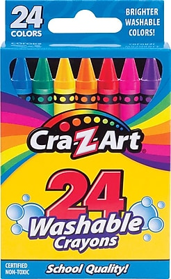 Cra Z Art Washable Crayons 24 Pack