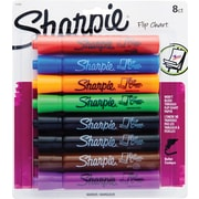 Sharpie Bullet Tip Flip Chart Markers Assorted 8/Pack (22480)