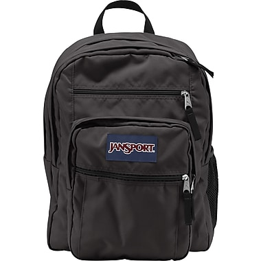Jansport Big Student Backpack, Forge Grey