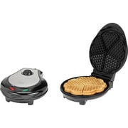 Kalorik Steel Heart Shape Waffle Maker, Assorted Colors