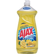 Ajax Super Degreaser Dish Soap, Lemon Scent, 28 oz.