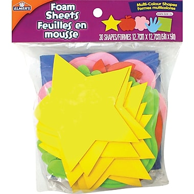 Elmer's® Multi Colour Foam Shapes
