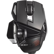 Office R.A.T. Wireless Mouse for PC, Mac, and Android,  Gloss Black