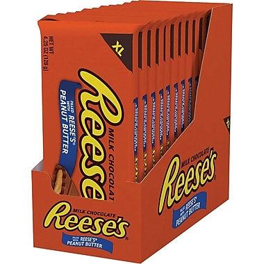 Reese's Peanut Butter X-Large Bar, 4.25 oz., 12/Case