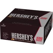 Hershey's Milk Chocolate Bars with Almonds King Size, 2.6 oz., 18/Box