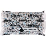 Hershey's Kisses Milk Chocolate with Silver Foils Bag, 4.1 lb.
