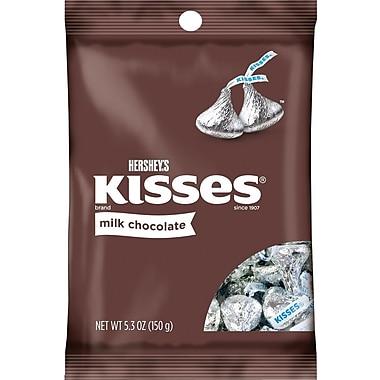 Hershey's Kisses Milk Chocolate, 5.3 oz., 12/Case