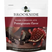 Brookside Dark Chocolate Pomegranate Flavor Pouch, 7 oz., 12/Case