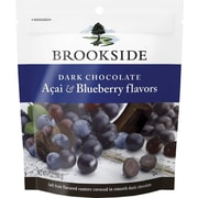 Brookside Dark Chocolate Acai & Blueberry Flavors Pouch, 7 oz., 12/Case